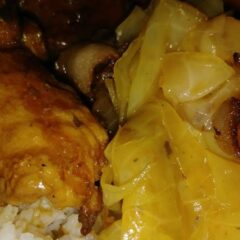 Delicious Smothered pork chops, yams and cabbage w/ bacon Recipes_5f78505b83fea.jpeg