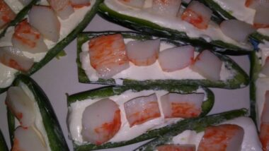 Delicious Texas Crabb an Cream Cheese jalapenos wrapped in Bacon In 17 minutes_5f78521a9ecf3.jpeg