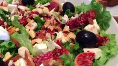 Easiest Way to Cook Appetizing Colorful & Healthy fig salad_5f76f70523e3b.jpeg