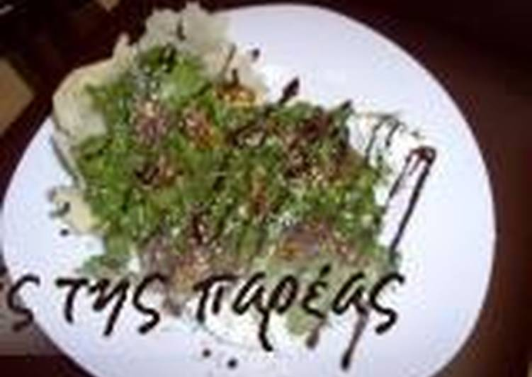 Easiest Way to Cook Perfect Arugula with caramelised figs in a parmesan nest_5f76f735e9005.jpeg