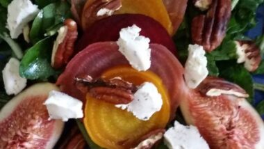 Easiest Way to Cook Tasty Beet and fig salad_5f785130ebfe4.jpeg