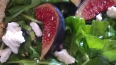 Easiest Way to Make Perfect Fig and goat cheese salad_5f7851611bdff.jpeg