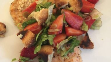 How to Cook Perfect Almond Crusted Trout with Strawberry Salad_5f76f7cd1e149.jpeg
