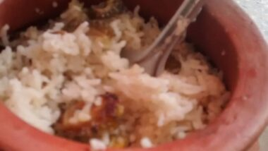 How to Make Tasty Bitter Gourd rice in a pot.  (Diabetic vegan) L.N.S._5f7853f7a9ca1.jpeg