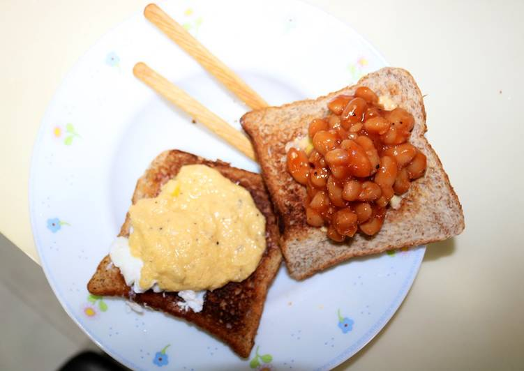 Tasty Toast with Eggs Benedict and Baked Beans Recipe_5f78555ce4b2c.jpeg