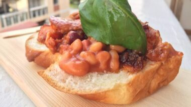 Yummy Baked Bean With Bacon And XO Sauce In 16 minutes_5f76f86a6f2c1.jpeg