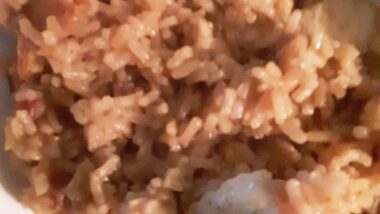 Yummy Chicken and Bacon with Brown Rice In 15 minutes_5f76f8834a598.jpeg
